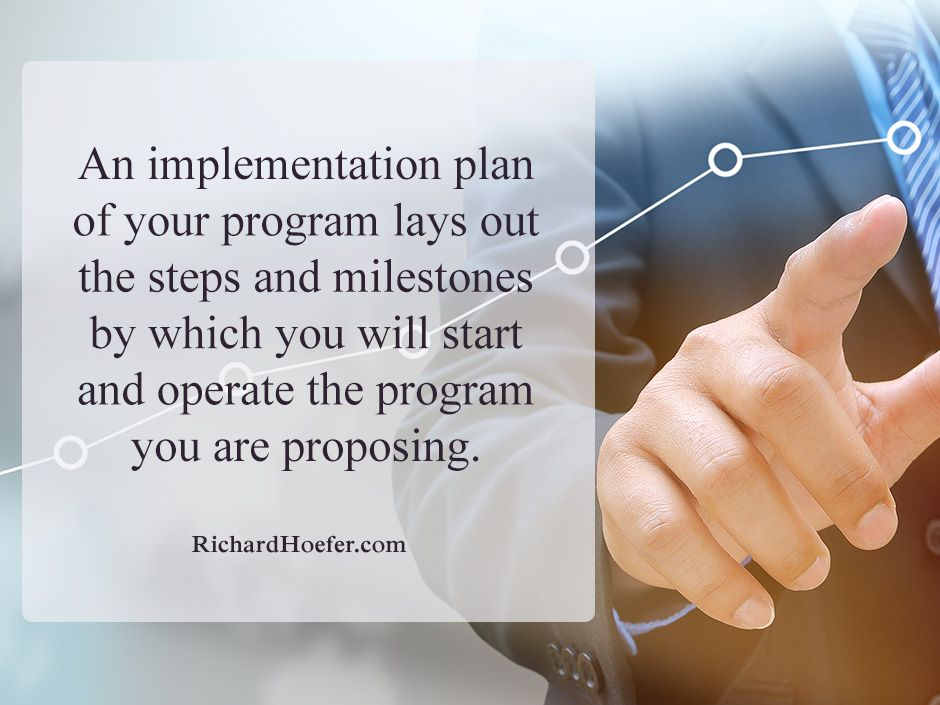 Implementation Planning In Grantwriting For Nonprofits