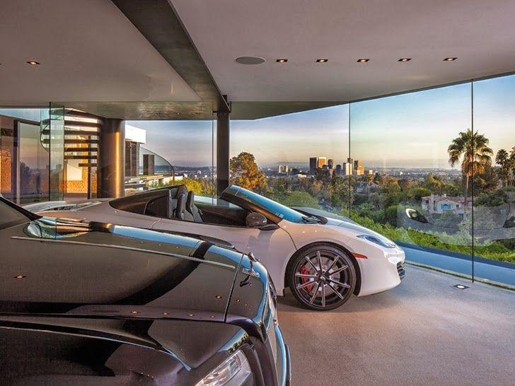 Interior Of A Garage