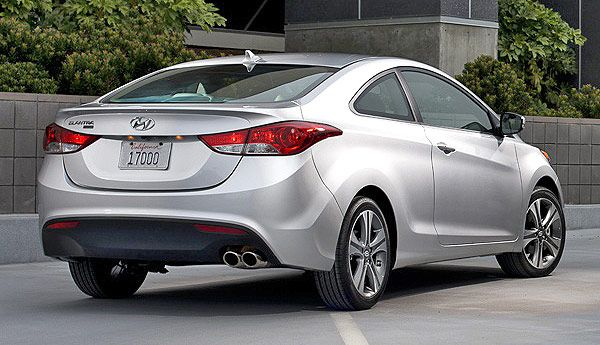 REAR VIEW: Hyundai Elantra Coupe 2013: Photos, Specs U0026 Brief Review