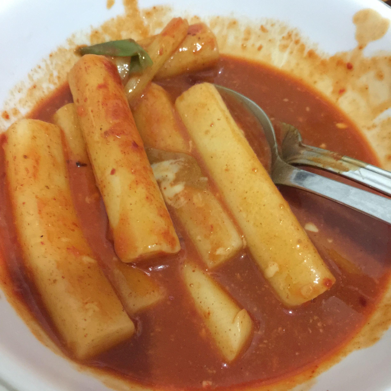 Hot and spicy rice cake tteokbokki recipe tteokbokki
