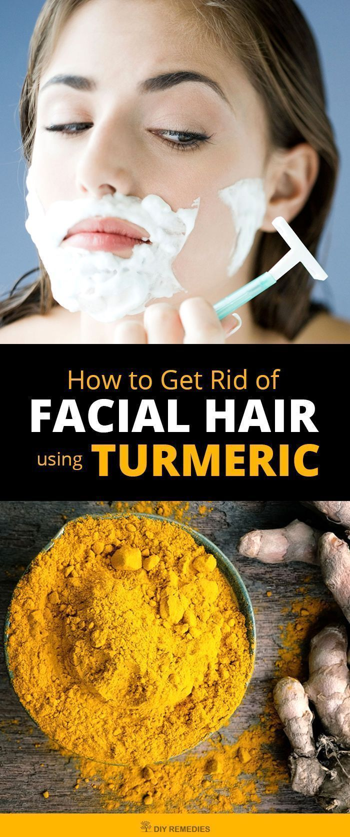 How To Get Rid Of Facial Hair Using Turmeric Here Are Some