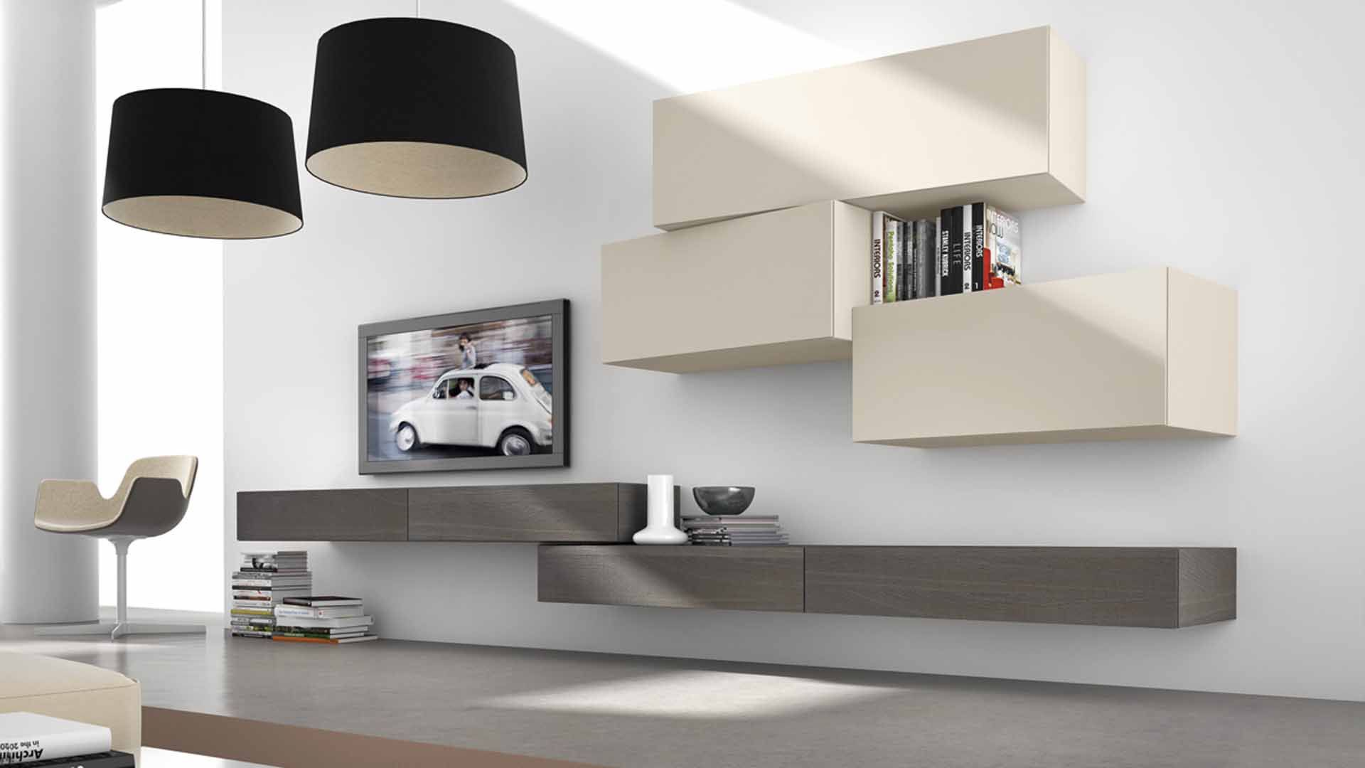 Meubles modern inclinart de presotto chez raphaele for Presotto industrie mobili spa