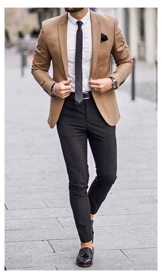 formal men outfit classy business casual