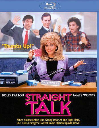 Straight Talk (Blu-ray Disc, 1992) Dolly Parton , James ...