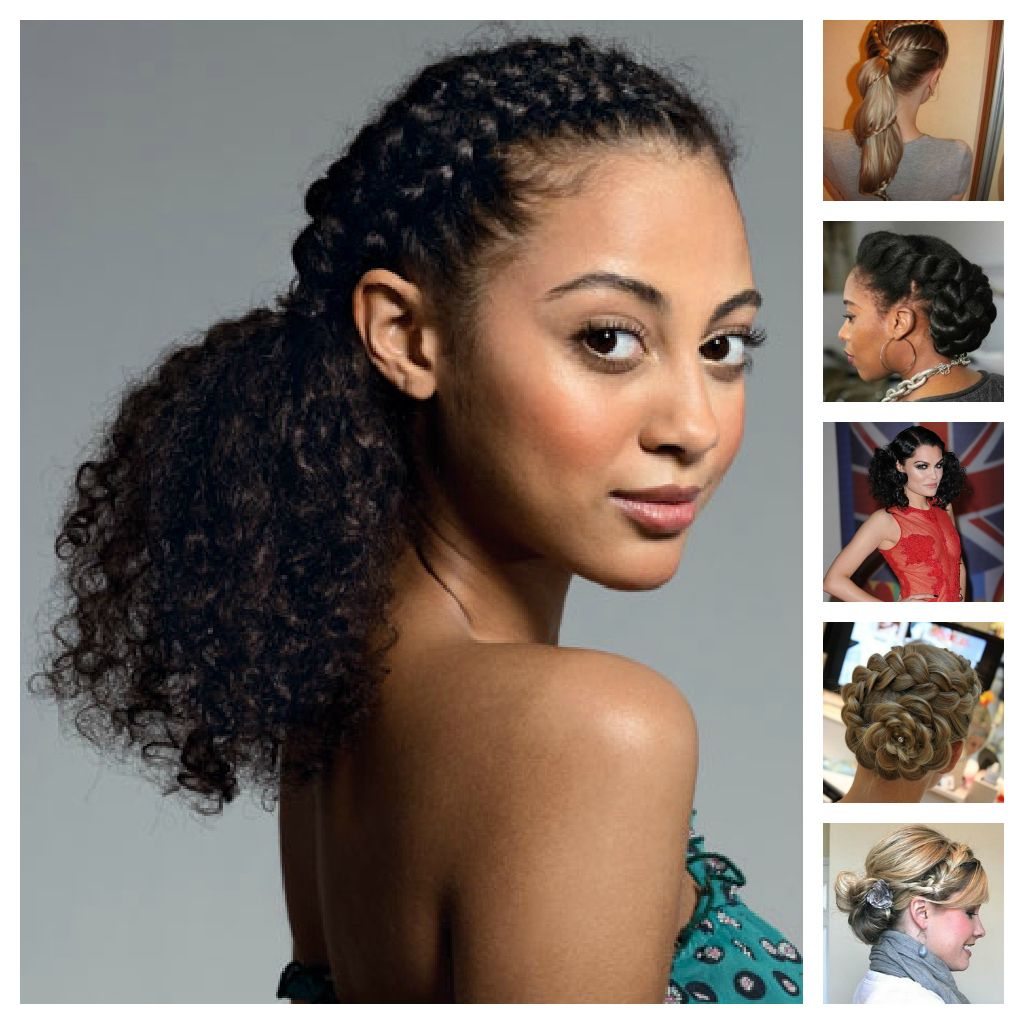 Cute hairstyles for curly hair - Curly Hair Hairstyles For Mixed Hair Hairs Picture
