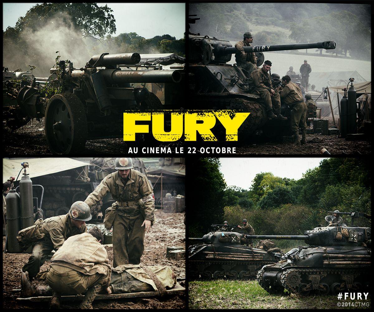 Ils se battront jusqu'à la fin... au péril de leurs vies. #Fury