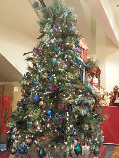 peacock #christmas #tree #macys | Christmas Decor | Pinterest ...