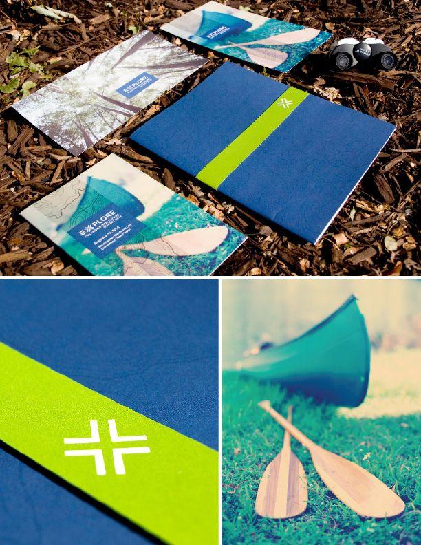 PLICO EXPLORE Conference Branding + Materials PLICO