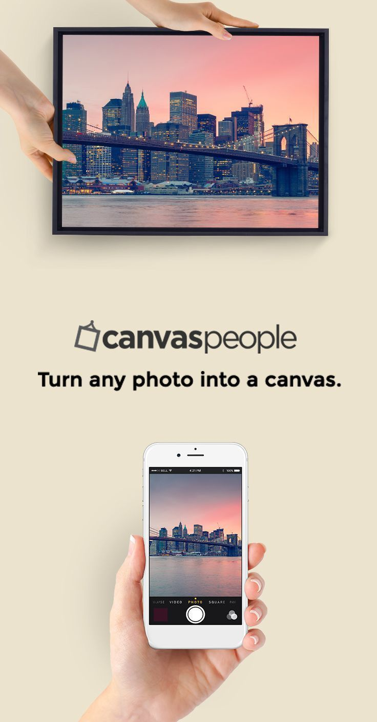 Get Your First 11x14 Canvas Free From Canvas People Beautiful