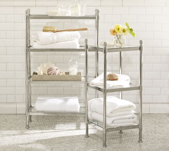 High Quality Pottery Barnu0027s Bathroom Storage Solutions Are Perfect For Organizing A Small  Bath. Find Bathroom Storage Units And Create A Spa Retreat At Home.