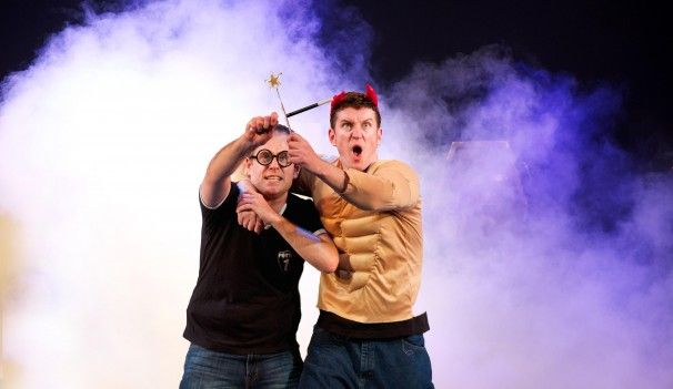 'Potted Potter' review: Rowling parody has us roaring with laughter - The Washington Post! See the show in San Diego November 6-10, 2013!!