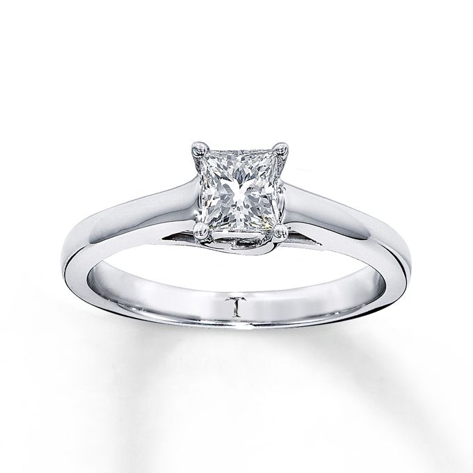 princess cut engagement rings - Wedding Rings At Kay Jewelers