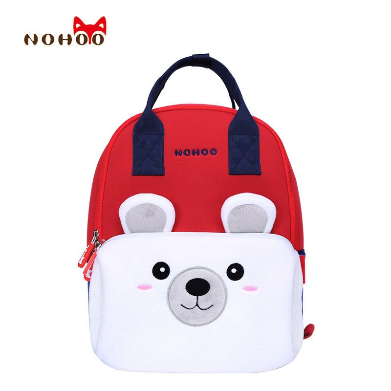 Kids Big Backpacks 3D Cute Cartoon Pre-k School Baby Toddler School Bags   NOHOO  Backpack 9014535fccf21