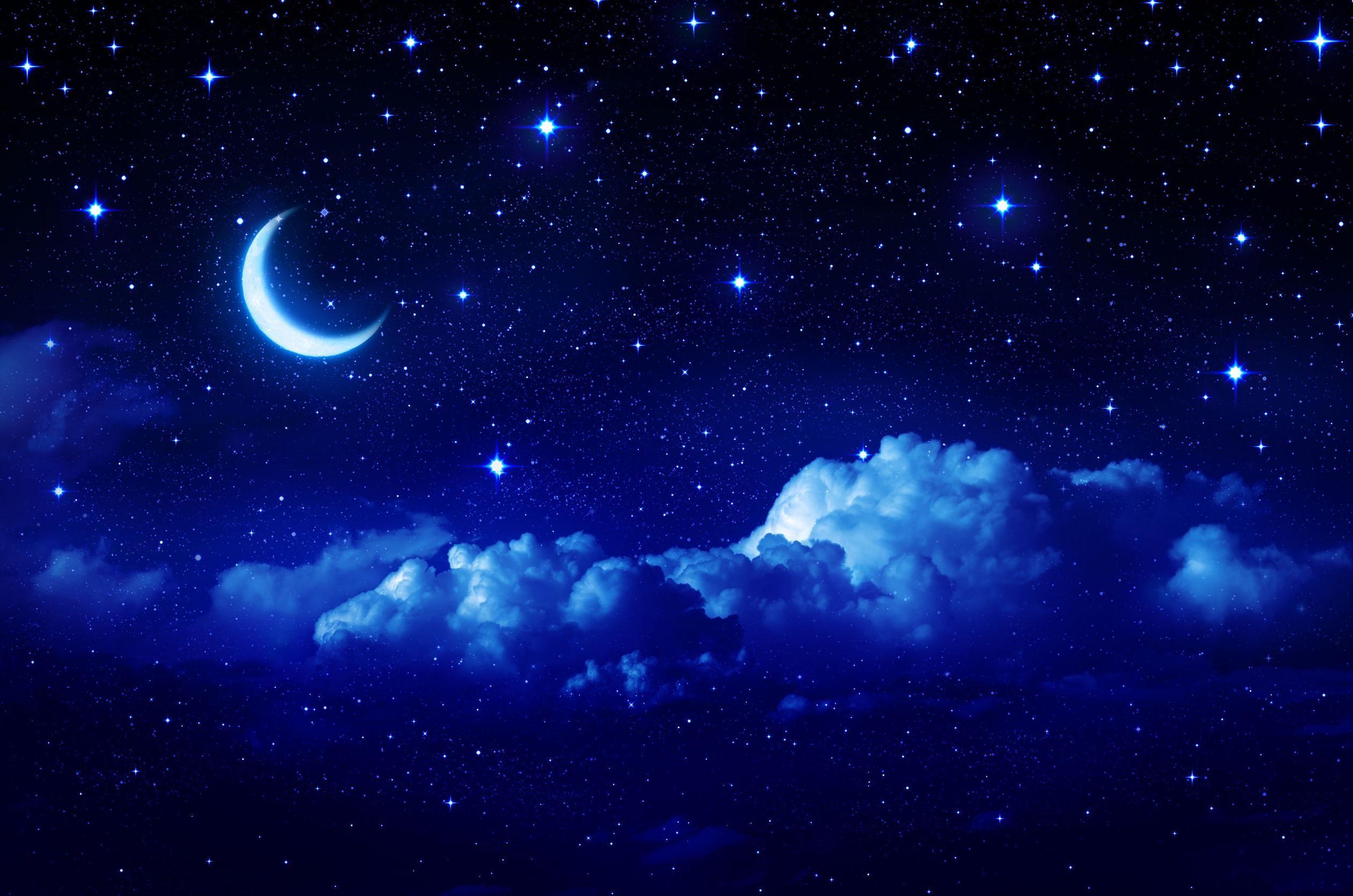 blue night sky background - photo #9