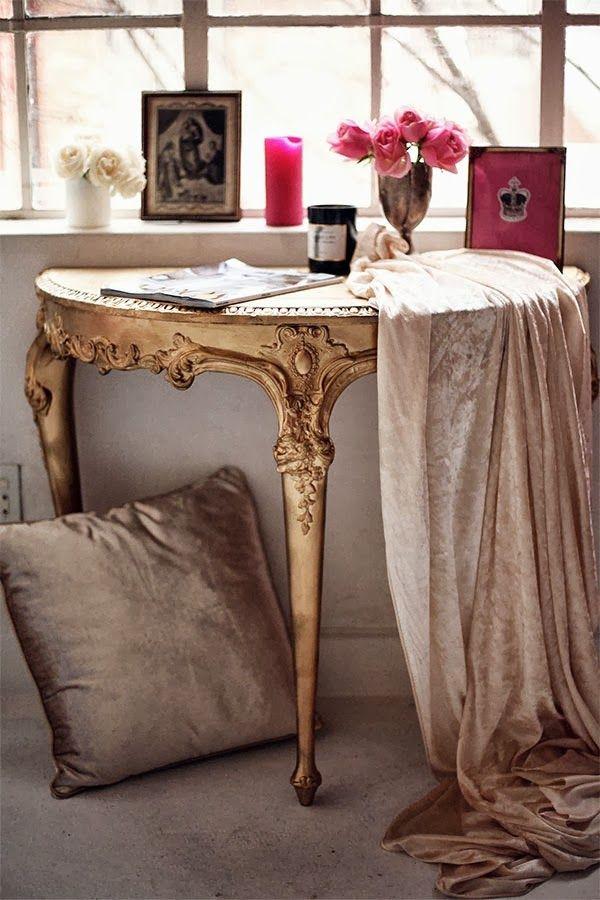 bachelorette luxe pad via ladyluxury feminine luxe home