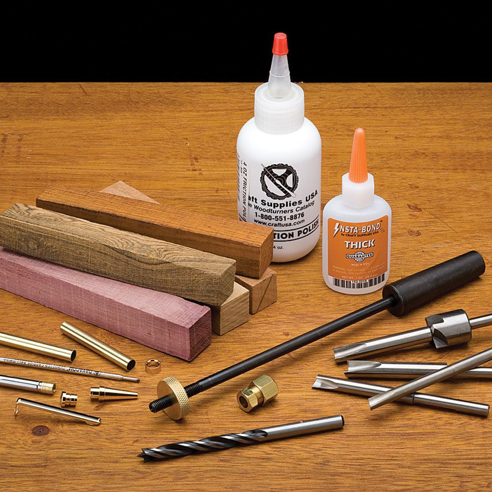 Apprentice Pen Turning Essentials Kit Pens And Projects