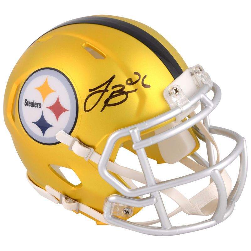 736908dd56b Le Veon Bell Pittsburgh Steelers Fanatics Authentic Autographed Riddell  BLAZE Speed Mini Helmet