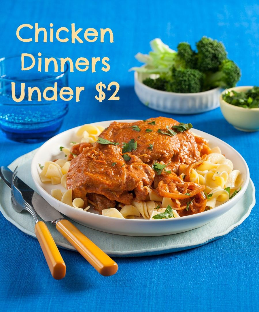 Chicken Dinners Under 2 Cheap Chicken Recipes Dinners And Recipes