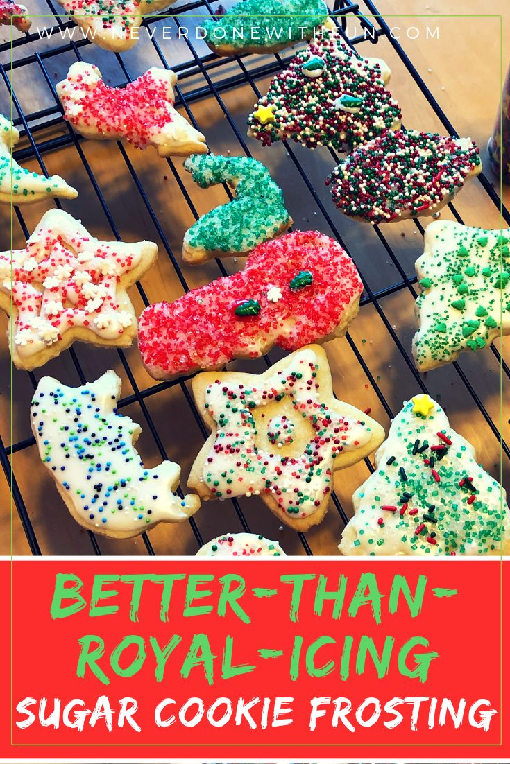 The Best Sugar Cookie Frosting | #NeverDoneWithFun