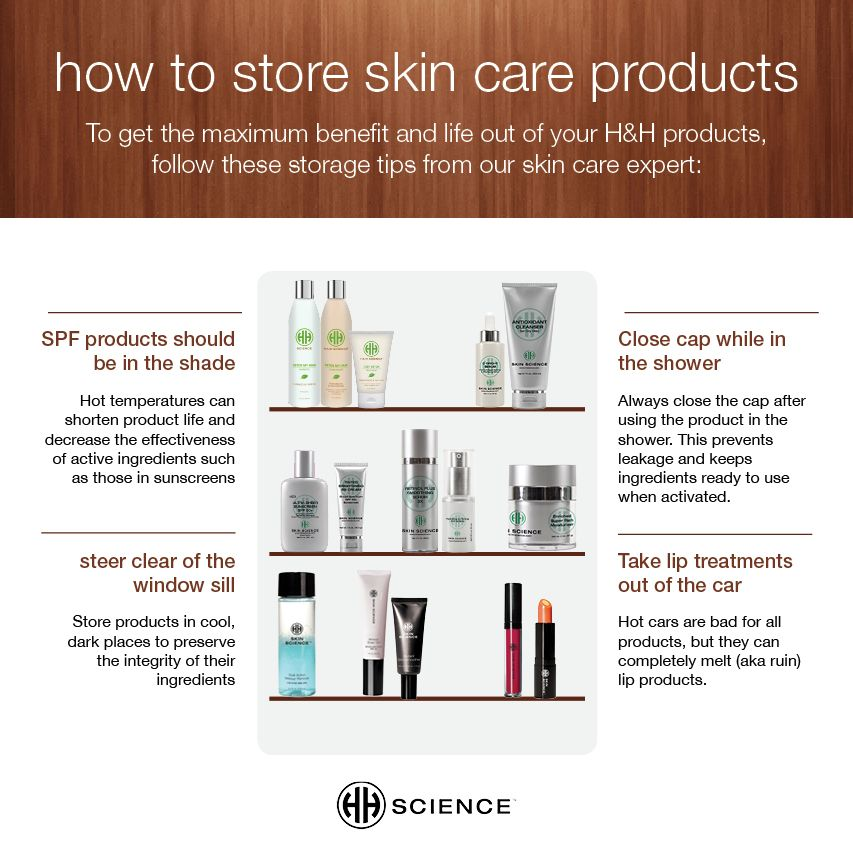 Check Our These Great Quick Tips On How To Properly Store Your Skin Care Products Skin Skin Care Skin Concern