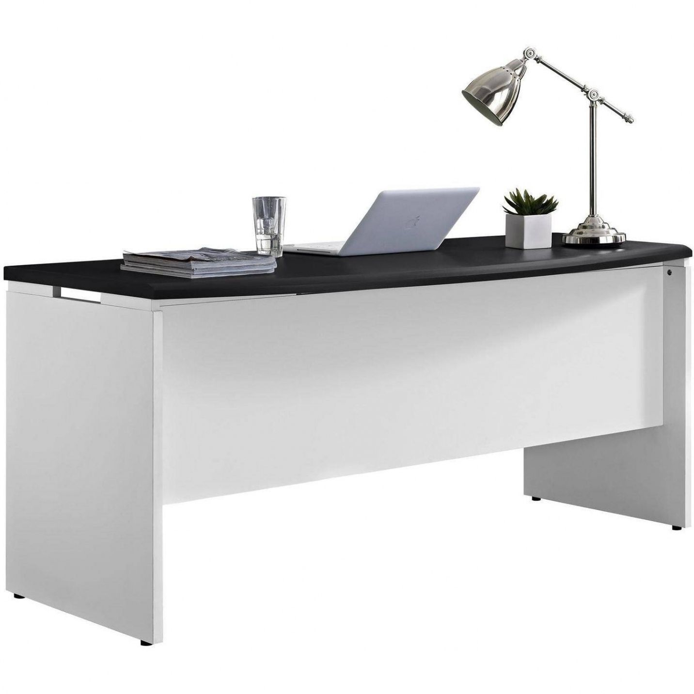 White Executive Desk - Rustic Home Office Furniture Check more at ...