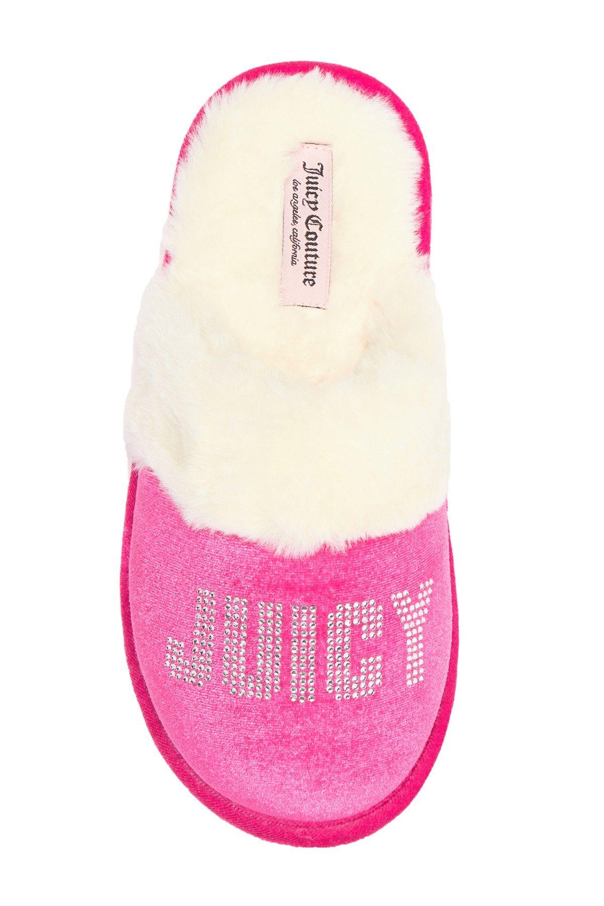 5c5bd5799df Gabi Crystal Faux Fur Slipper (Men) by Juicy Couture on  nordstrom rack