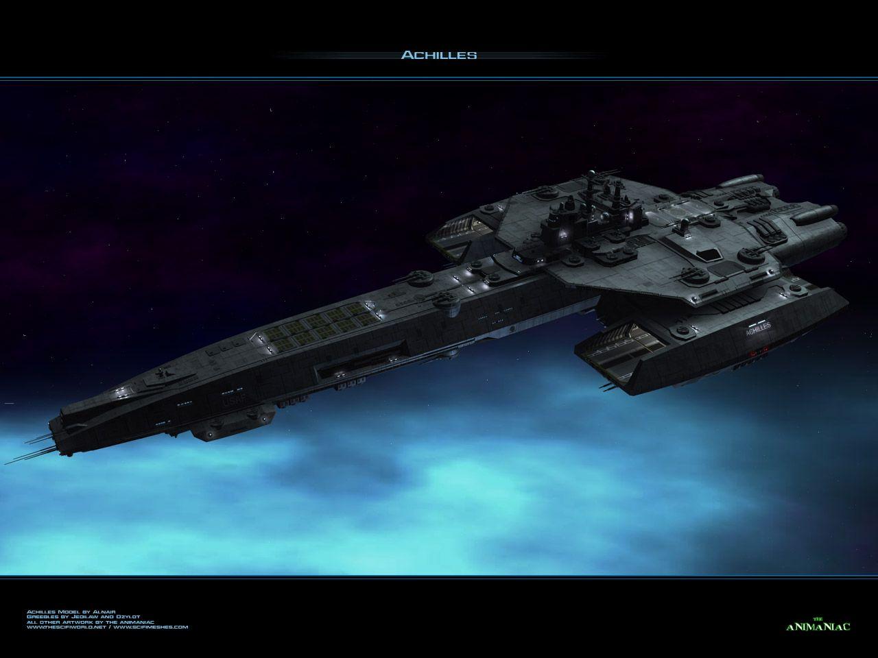 Stargate Universe Ships | The GTC's Capital Ship/Space