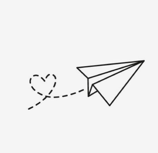 paper airplane icon transparent background