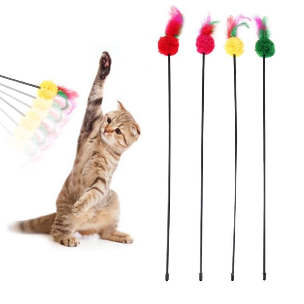 Cat Toy Lot 6  Rattle Multi-Colored Mice//Pet Brand new
