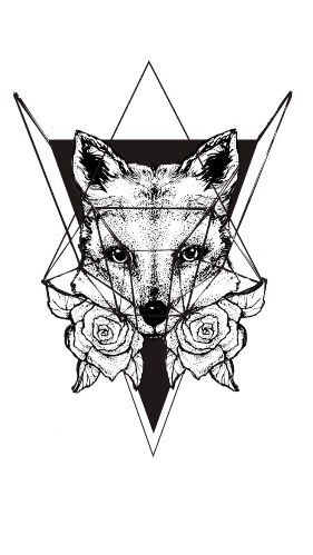 Geometric Fox Tattoo Fox Tattoo Geometric Fox Tattoo Geometric Tattoo