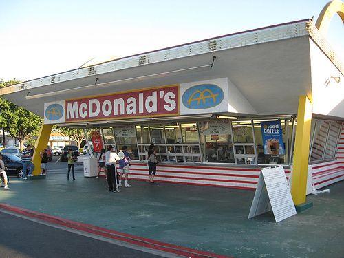 The original McDonalds in Downey