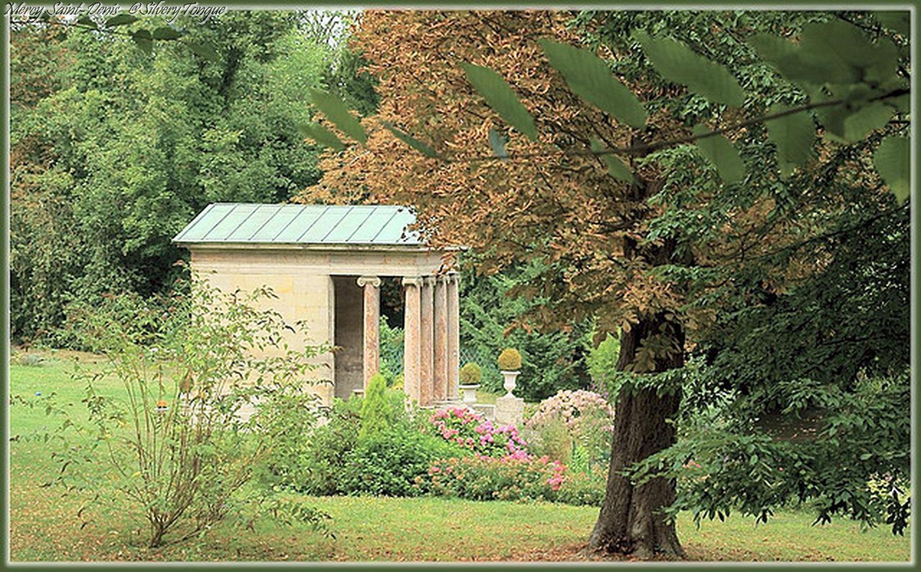 Le temple de l 39 amour dans le parc de malmaison ch teau de la malmaison pinterest ch teau - Parc de la malmaison ...