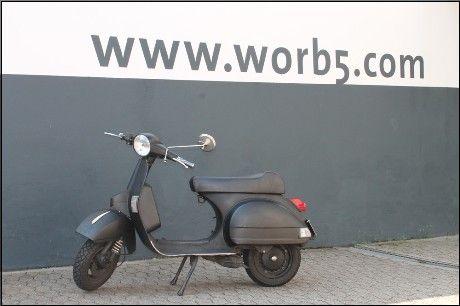 vespa px schwarz 177 ccm worb5 scooterparts vespa. Black Bedroom Furniture Sets. Home Design Ideas