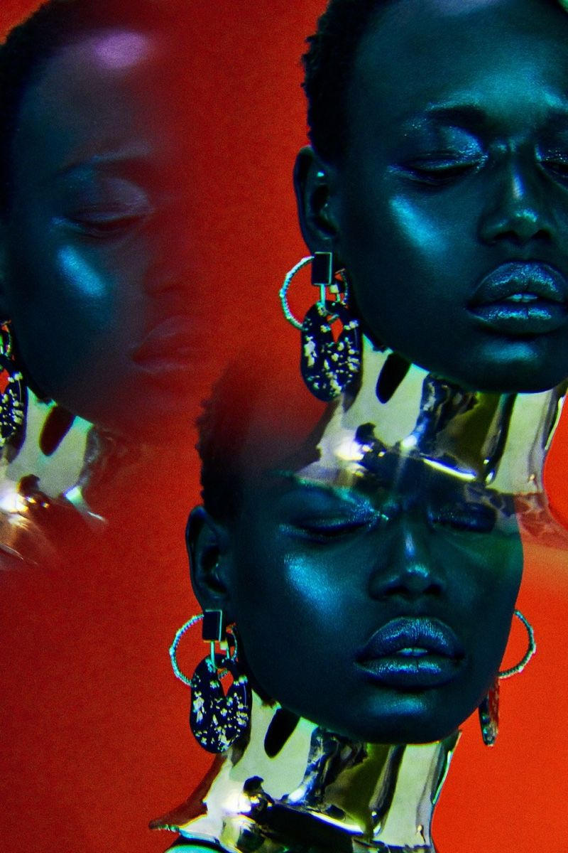 Photo of Ajak Deng Dazzles in Luxe Jewels for Vogue Portugal