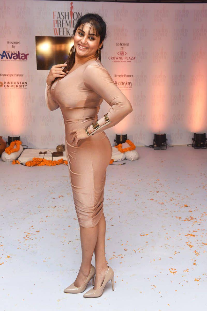 Namitha Hot Stills At Chennai Fashion Premier Week 2016 -1681