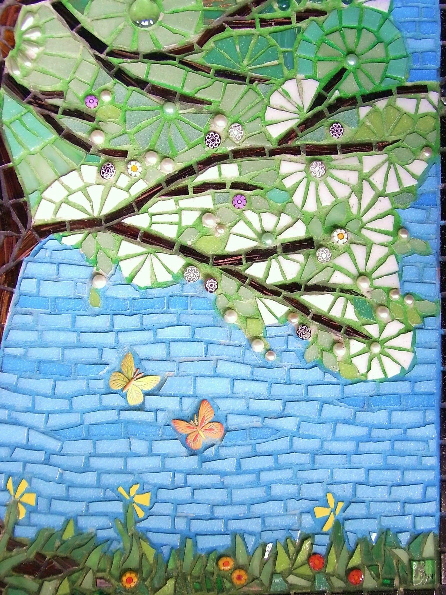 Frances Green - Tree of Life | mosaicos | Pinterest | Mosaics and Craft