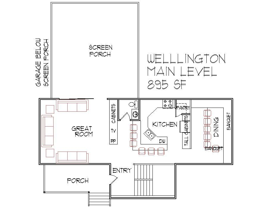 1000 Square Foot Floor Plan 2 Bedroom 2 Bath Architect ...