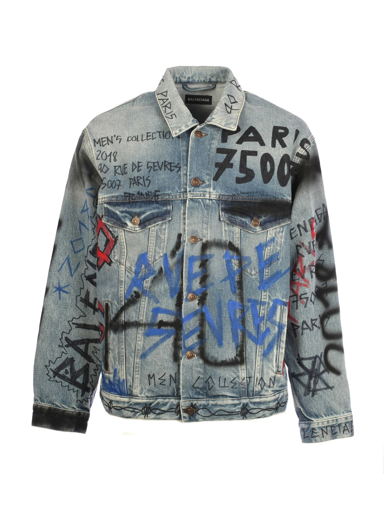 graffiti clothing art women/'s denim coat denim coat- jacket coat art on clothes jeans coat hippie coat denim graffiti jacket