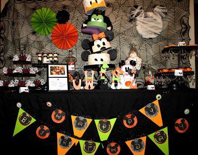 so cute decor Pinterest Halloween, Halloween birthday and