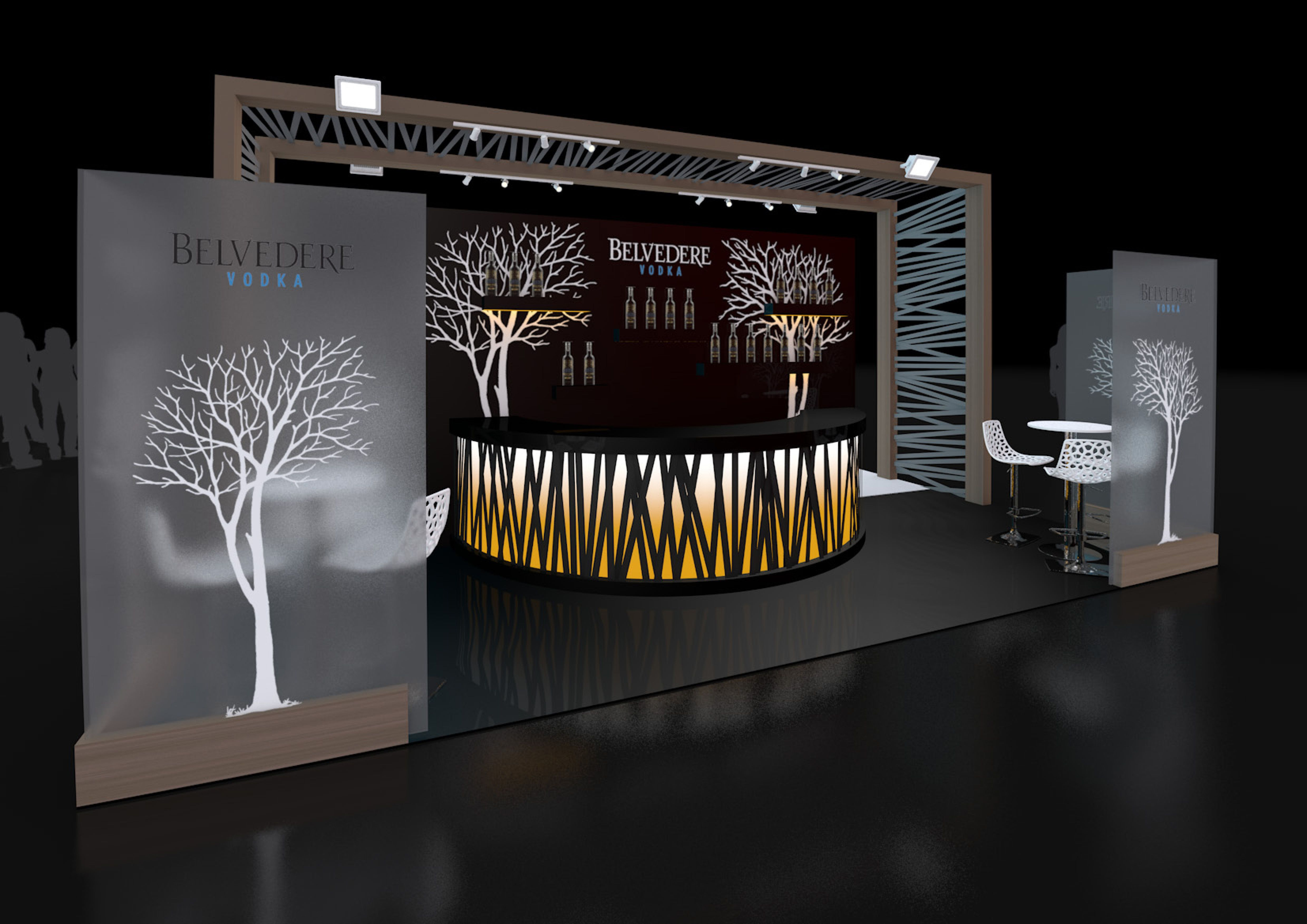 Exhibition Stand Design Stand Design Created For Belvedere Vodka For Their Upcoming Exhibition At Imbibe Exhibition Stand Design Stand Design Exibition Design