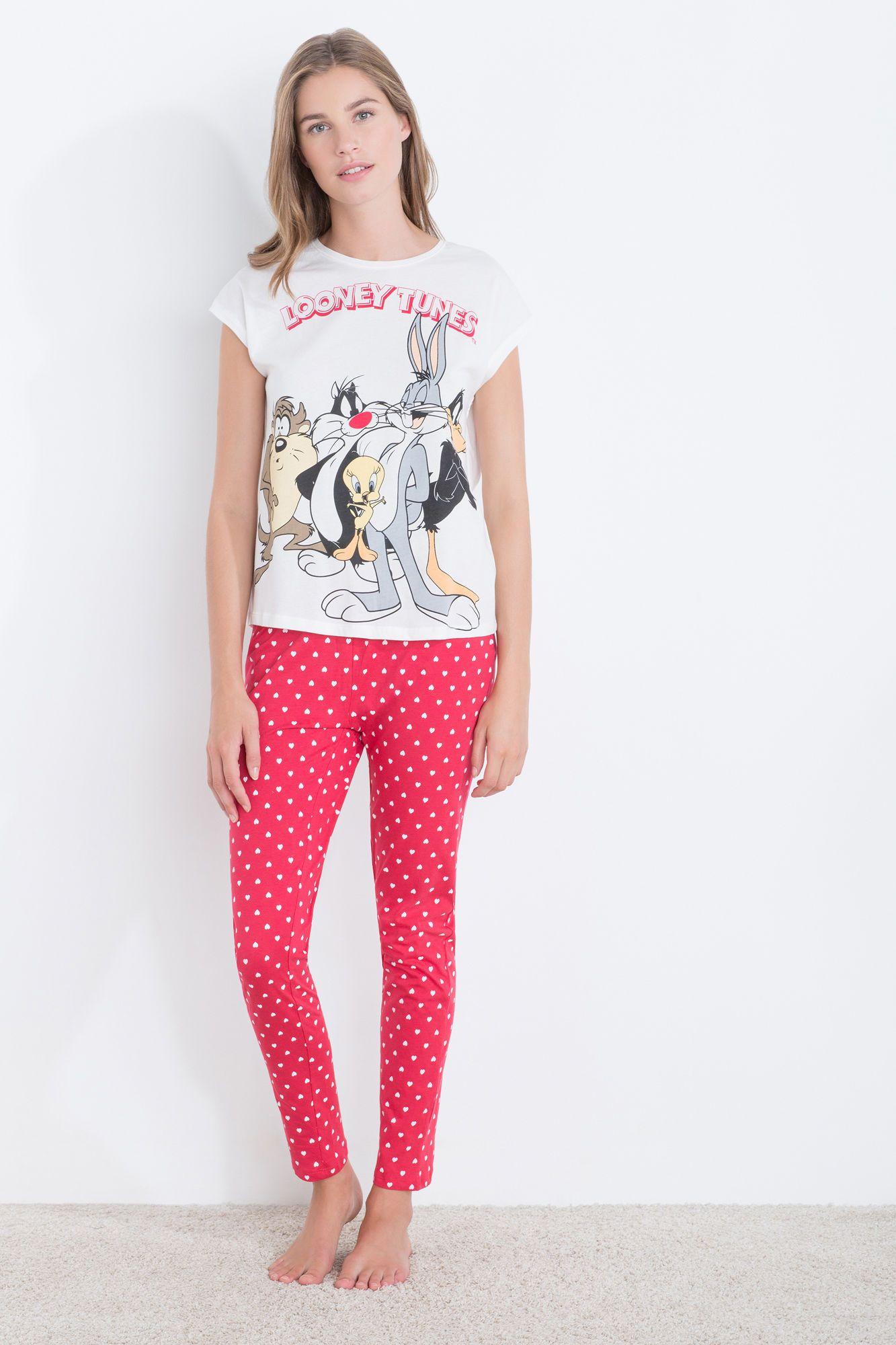 Looney Tunes Pullover Sweatshirt Forever 21 2000119653