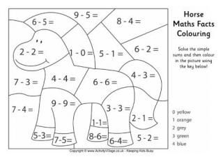 Chinese Zodiac Animals Maths Facts Colouring Math Coloring Worksheets Math Coloring Math Facts