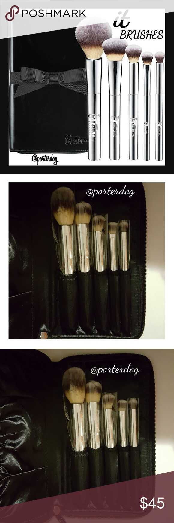 IT BRUSHES FOR ULTA 5 Piece Set NWT Ulta makeup brushes