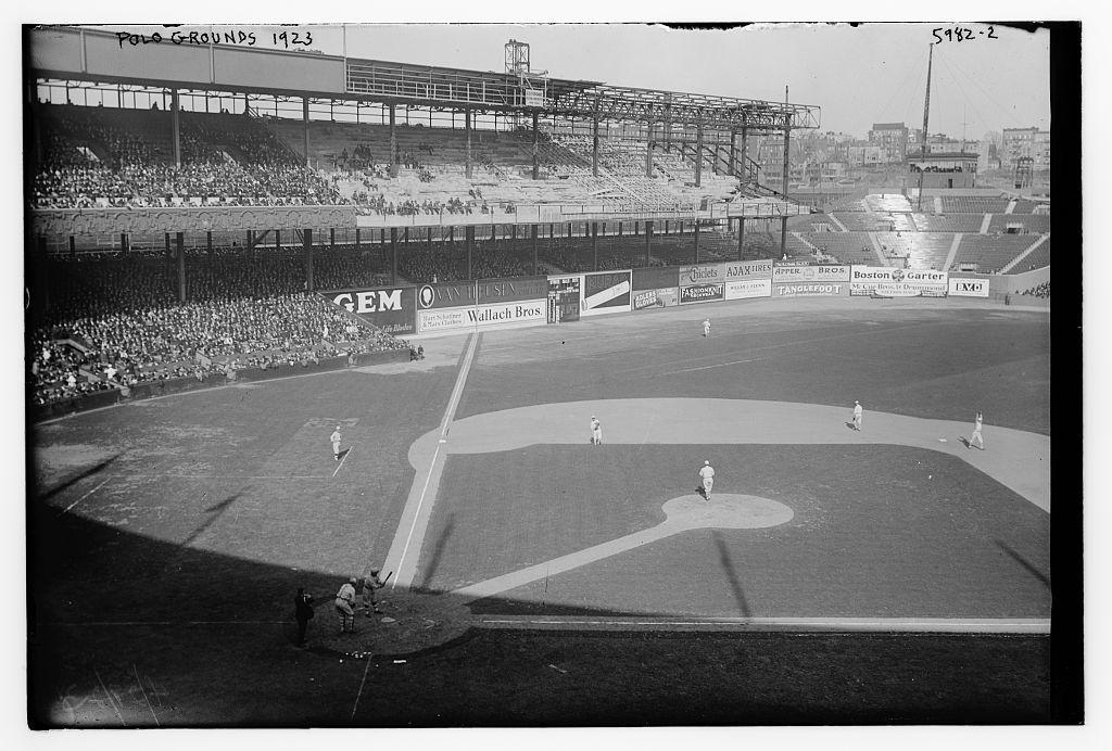 Polo Grounds 1923 Yankee stadium, New york yankees stadium