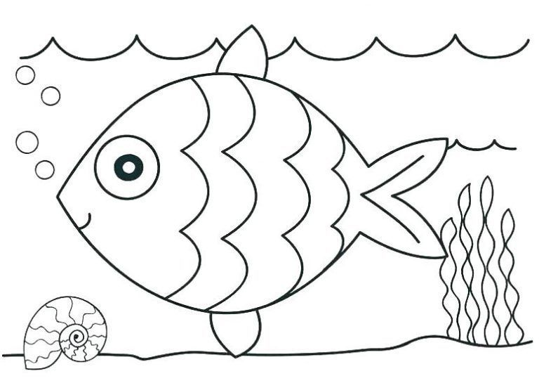 Printable Ocean Coloring Pages For Kids