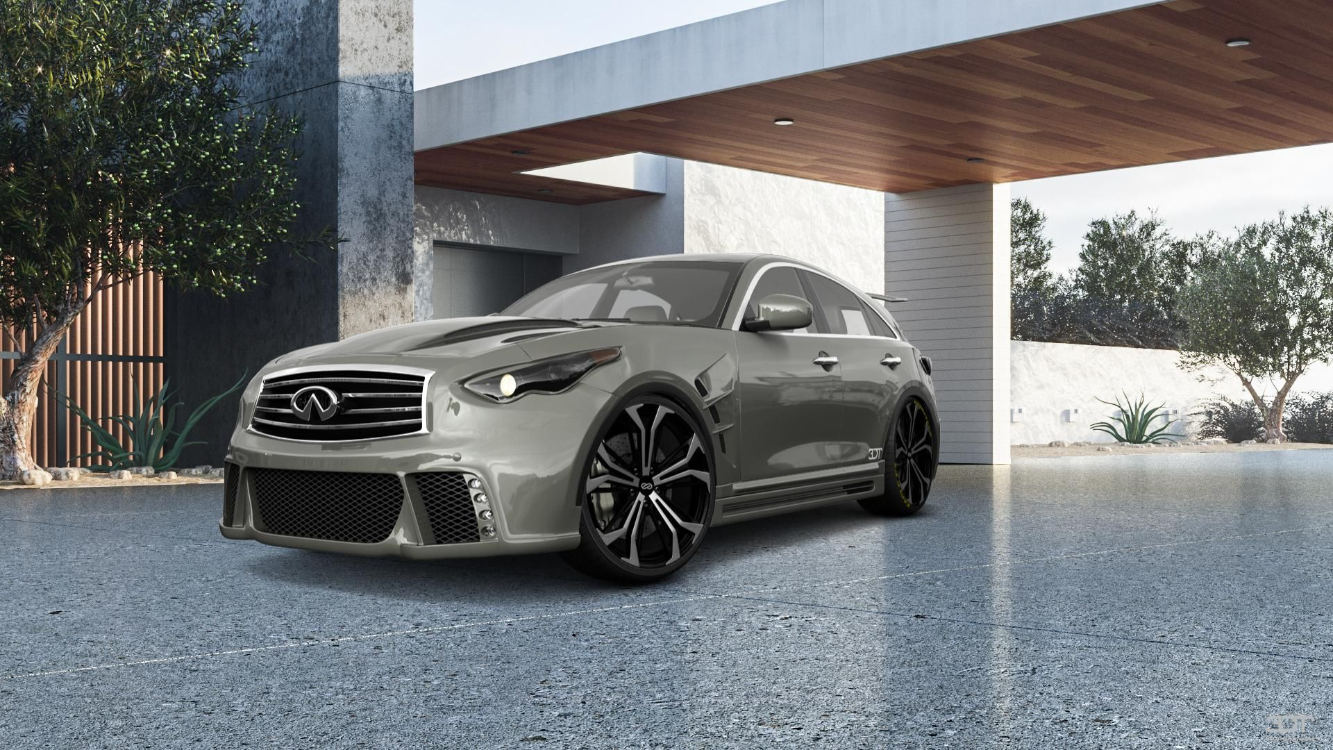 Checkout my tuning Infiniti FX50 2009 at 3DTuning 3dtuning