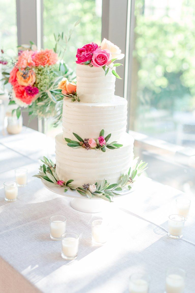 of the prettiest floral wedding cakes wedding cake white