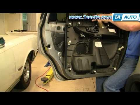 How To Install Replace Rear Inside Door Handle Volvo XC90 1AAuto.com