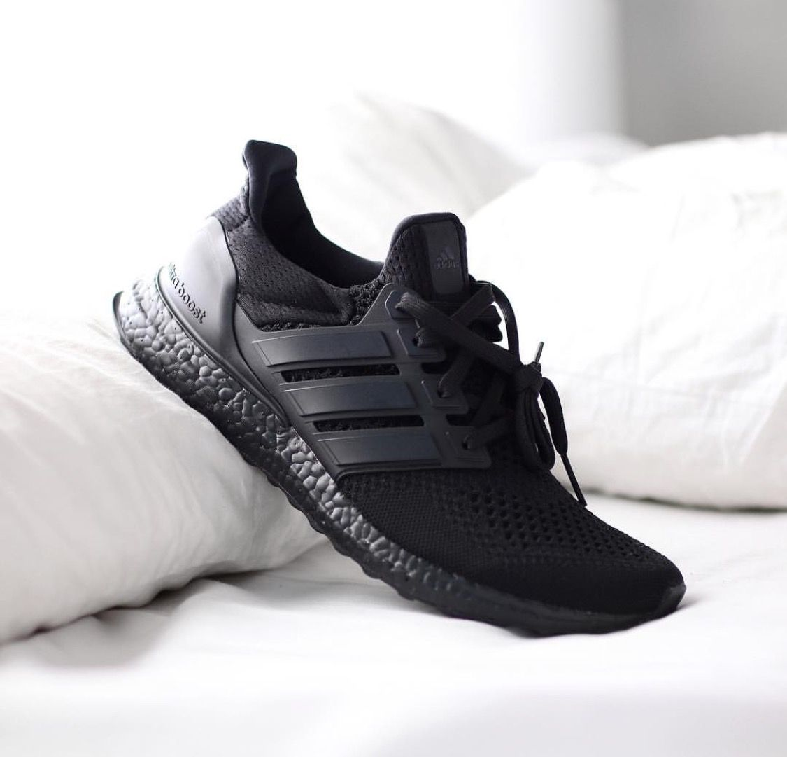 the latest a924b d94cc ... where can i buy december 1st triple black black adidas ultraboost  sneakers nike shoes fashion gq ...