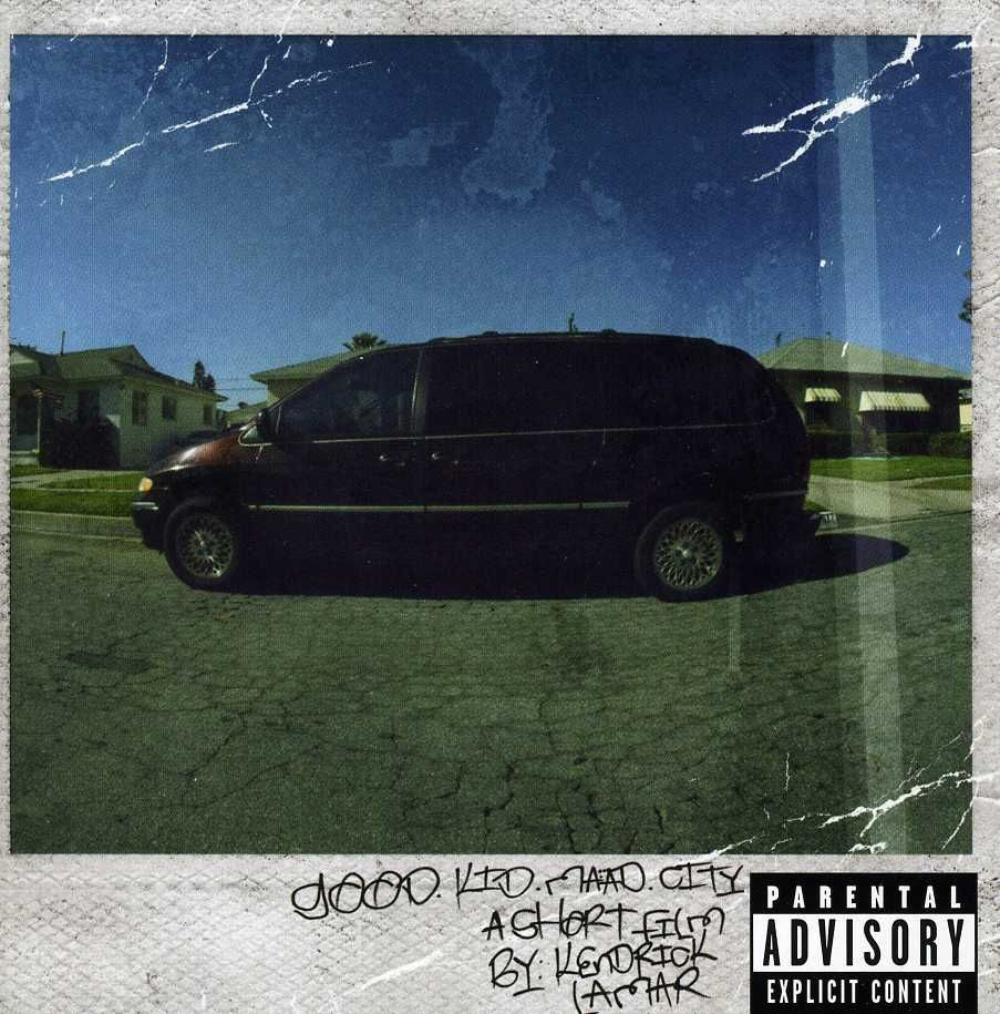 Good Kid Maad City The Maroon Minivan The Polaroid Frame The Handwriting So Awesome One Of My Favorite Album Kendrick Lamar Good Kid Maad City Cool Kids